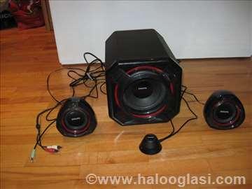Zvučnici Philips 2+1, ekstra