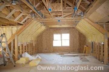 Adaptacija potkrovlja-tavanskog prostora
