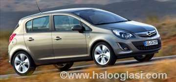 Opel Corsa 1.2I rent a car