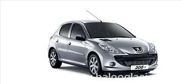 Peugeot 206 1.4 HDI  rent a car