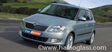 Škoda Fabia 1.4 MPI rent a car