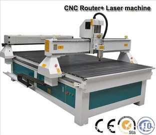 CNC + Laser