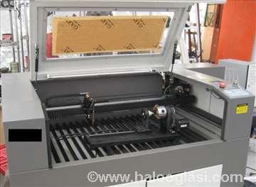 Laser. gravirka rezač 600x900,100W za kožu i gumu