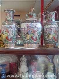Set-porcelanske vaze i ćup