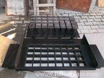 Mašinski kalupi za betonske blokove