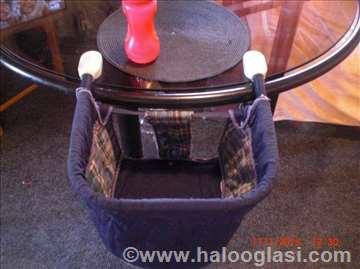 Stolica za hranjenje koja se montira na sto