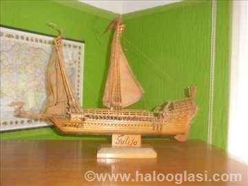 Maketa broda Galija XVII vek