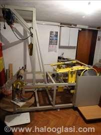 Mašina za izradu termo rolni za fiskalne kase