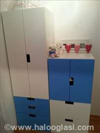 Ormari za dečju sobu-Ikea model