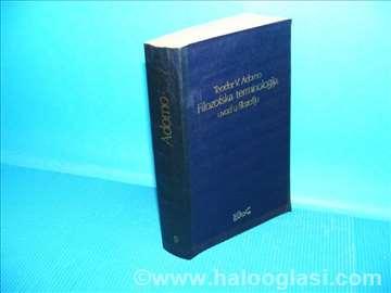 Filozofska terminologija Teodor V.Androrno