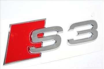 Audi S3 znak samolepljiv