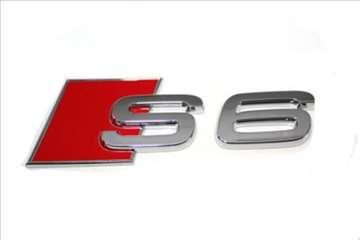 Audi S6 znak samolepljiv