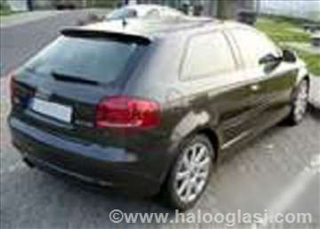 Audi A3 limarija branik