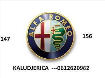 Alfa Romeo 147 156 DELOVI KALUDJERICA