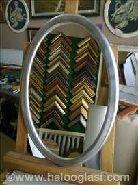 Ovalno ogledalo 0010195