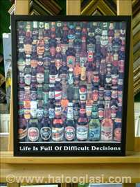 Život je pun teških odluka- ur. poster