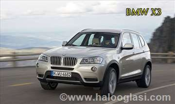 BMW X3 rent a car