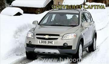 Chevrolet Captiva rent a car