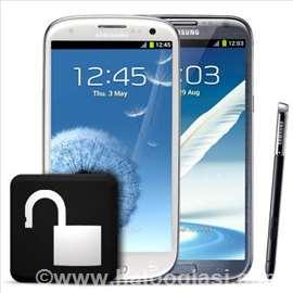 Dekodiranje Samsung mobilnih telefona