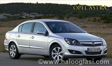 Opel Astra  rent a car