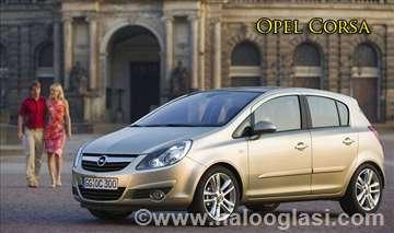 Opel Corsa rent a car