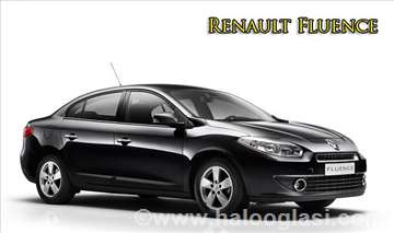 Renault Fluence rent a car