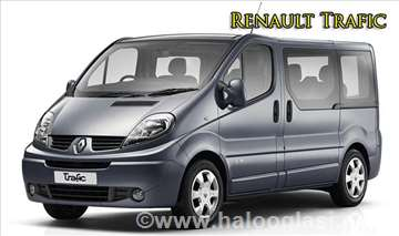 Renault Traffic rent a car