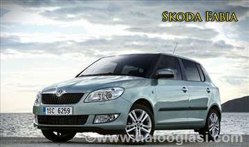 Skoda Fabia rent a car