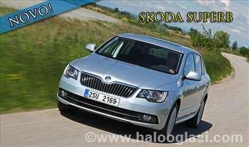 Skoda Superb rent a car