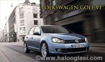 VW Golf 6 rent a car