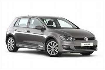 VW Golf rent a car
