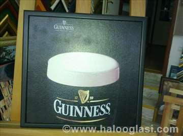 Guinness - uramljen poster