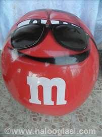 Plastična lopta za igranje, na naduvavan