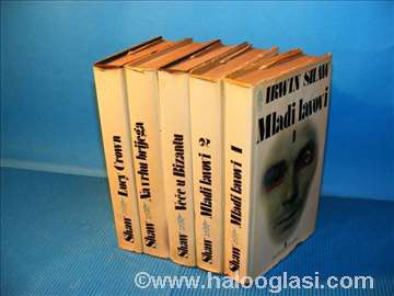 Irwin Shaw u pet knjiga