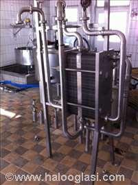 Laktofriz tank duplikator separator Paster pumpa