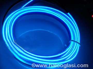Opticko vlakno led traka plava