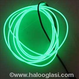 Opticko vlakno led traka zelena
