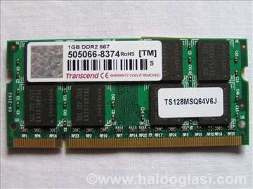 Transcend 1 GB DDR2 667 MHz