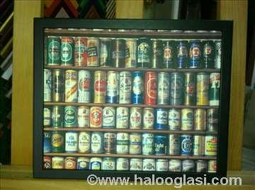 Zid piva, veći - uramljen poster