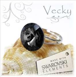 Swarovski prsten 14mm SN