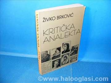 Kritička analekta 1965-2002  Živko Brković