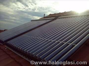 Zagrevanje bazena solarnim panelima
