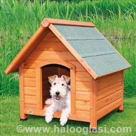 Drvena kućica za pse S, M, L