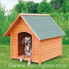 Drvena kućica za pse XL