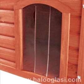 Plastična vrata za kućicu za pse