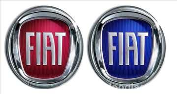 Znak Fiat - crveni i plavi