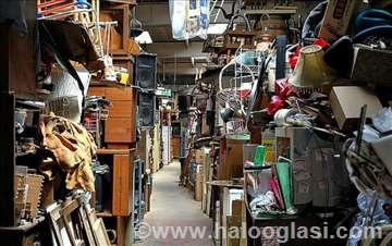 Čišćenje objekata i odnošenje nepotrebnih stvari