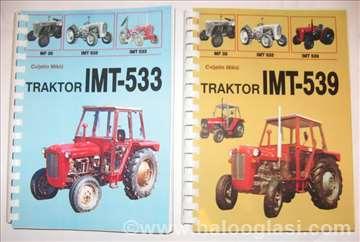 Knjige traktor IMT-533 i IMT-539