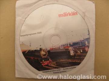DVD o Maerklin modelima železnice