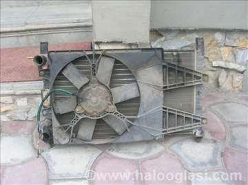 Fijat dizel hladnjak i ventilator